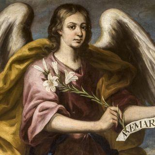 Arcángel Gabriel, el mensajero de Dios