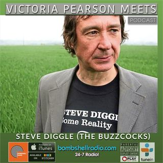 Victoria Pearson Meets - Steve Diggle (The Buzzcocks) Part Two