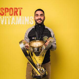 Episode 22 - SPORT VITAMINS (ENG) / guest Federico Pizzuto, Fitness Coach - Columbus Crew SC