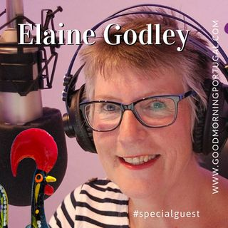 Elaine Godley on The Good Morning Portugal! Show