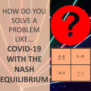 How do you solve a problem like... COVID-19 with the Nash Equilibrium