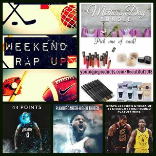 Weekend Rap Up Ep. 76: Calm Down Its Only Game 1