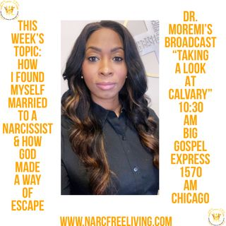 How Did I Marry A Sociopath?: Dr. Moremi's Radio Broadcast W/Shannon