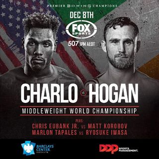 Preview Of The PBConFox Card Headlined By Jermall Charlo-Dennis Hogan For The WBO Middleweight Title!Live From Barclays Center!On Showtime!!