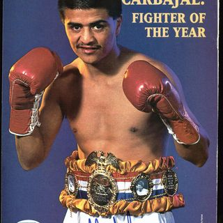 Ringside Boxing Show: Guest Michael Carbajal started in a tin chicken coop, finished with 6 world titles