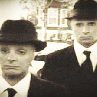 Scary Men in Black Encounters Part 1 40'S AND 50'S The Real MIB