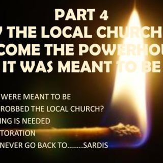 BECOMING THE POWERHOUSE GOD MEANT YOU TO BE PART 4 THE CHURCH