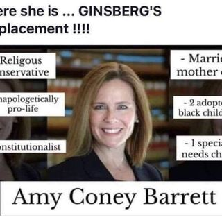 Amy Coney Barrett Picked to Replace Ruth Ginsburg Now We Get to Find out Who The Left Said She Raped
