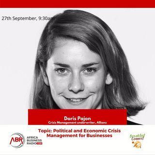 Political And Economic Crisis Management For Business - Doris Pajon