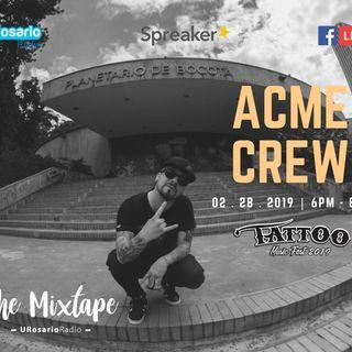 Asfalto y Acme Crew