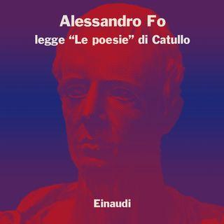 """Alessandro Fo legge """"Carme 8"""" di Catullo"""
