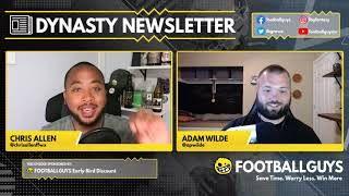 Amon-Ra St.Brown is the WR3!? Who's the WR1 and WR2? - Dynasty Fantasy Football 2021