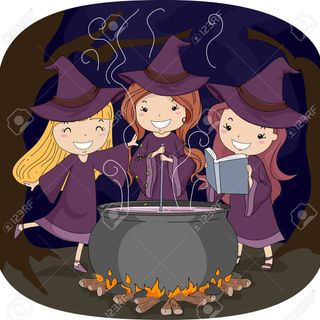 Little Witches Gathering