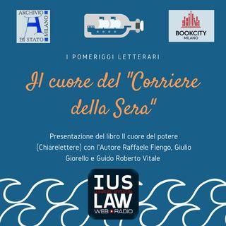 """Il cuore del """"Corriere della Sera"""" - POMERIGGI LETTERARI"""