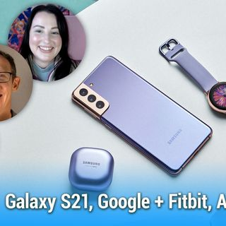 AAA 508: How Rugged Is Your Phone? - Galaxy S21, Google Owns Fitbit, Android 12 Features, Pocketcasts for Sale
