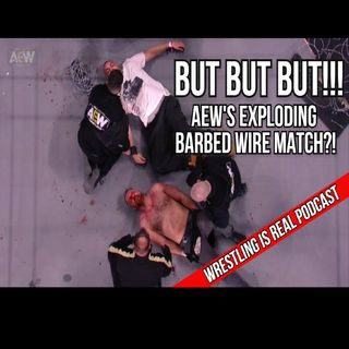 But But But!!! AEWs Exploding Barbed Wire Match KOP031121-597