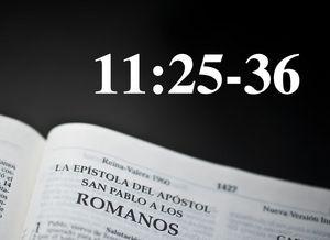 Romanos 11:25-36 / La salvación de israel y la gran misericordia de Dios - Audio