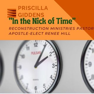 """My 1ST SERMON """"IN THE NICK OF TIME"""""""