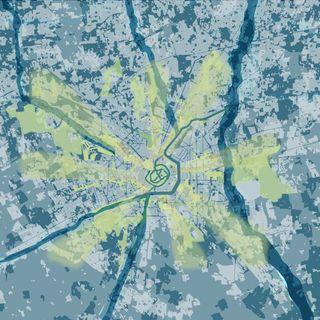 Le città di nuovo in movimento