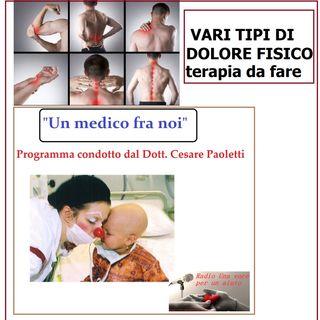 """""""UN MEDICO FRA NOI"""" Dott. Cesare Paoletti - IL DOLORE ED I FARMACI"""