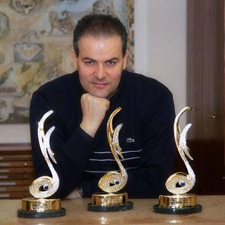 Il maestro orafo Michele Affidato - che ha fatto la storia dei premi di Sanremo