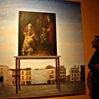 Luis Mayo expone en la sala Alfonsa de la Torre de Cuéllar.