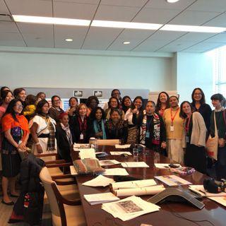 Tres indígenas colombianas participaron en el Foro de la ONU para las cuestiones indígenas