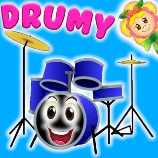 39. La batería Drumy. Cuento infantil de Hada de Fresa sobre la magia de los instrumentos musicales