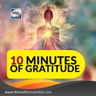 10 minutes of gratitude