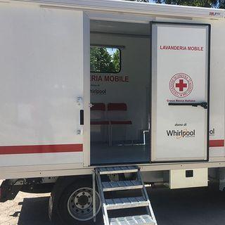 Una lavanderia mobile donata alla Croce Rossa per Amatrice