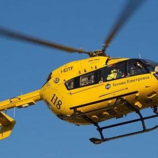 Incidente durante la Astico-Brenta: grave ciclista, portato in ospedale in elicottero