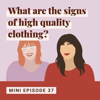 What are the Signs of High-Quality Clothing?