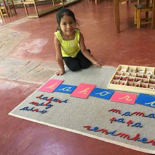 Iniciación a La Lecroescritura Con El Método Montessori