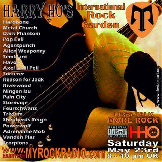 Harry Ho's intern. Rock Garden 22.05.2020