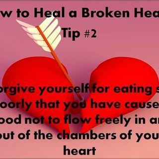 How do you mend a Broken Heart?  Michelle Edmonds, M.A., M.Ed.