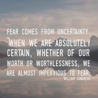 Fearlessness - behaviors to adopt