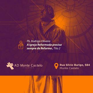 Os 5 Solas (Somente) da Reforma Protestante para nossos dias | AD Monte Castelo