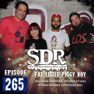 Dillion Harper & Ryan Banks (Porn Star & Producer) - Fat Little Piggy Boy