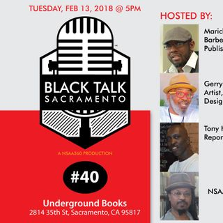 Black Talk Sacramento #40: Black Women and Rockets