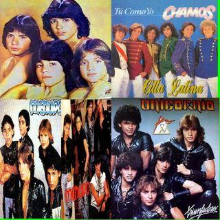 Grupos famosos de los 80 en Citta Latina