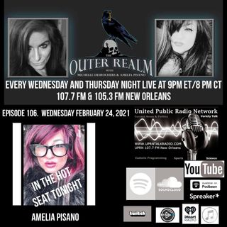 The Outer Realm With Michelle Desrochers and Amelia Pisano there guest Amelia Pisano