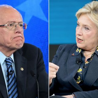 Hillary Clinton is Attacking Bernie Sanders