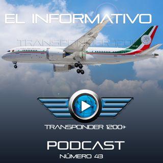 Aterriza en Ciudad de México el Boeing 787 presidencial TP-01