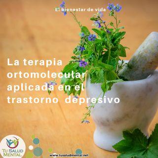 La terapia ortomolecular aplicada en el trastorno depresivo