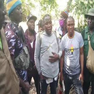 Chief Sunday Igboho Join Forces With Nigeria Army And PoliceTo Chase away herdsmen in Kishi Jungle.