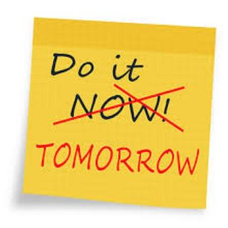 postponing ....