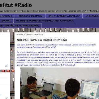 Nos Presentamos - Radio Collblanc