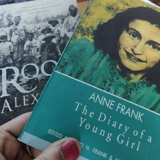 Remembering Anne Frank & Alex Haley - World Book Day