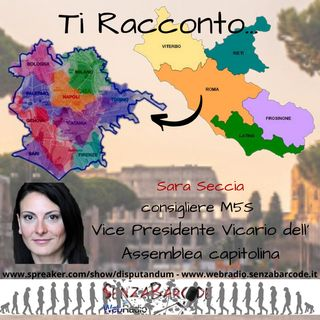 Intervista a Sara Seccia M5S Capitolino. Nuovo regolamento di Polizia Urbana