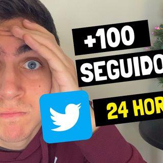 ¿Cómo conseguir 100 seguidores en Twitter en 24 horas?